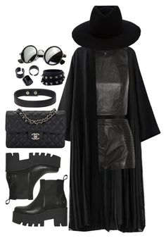 """""""Heaven's On Fire"""" by flowersoflife ❤ liked on Polyvore featuring Alice + Olivia, Pierre Balmain, rag & bone, Windsor Smith, Chanel and Valentino"""