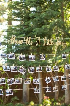 photo guestbook ideas / http://www.deerpearlflowers.com/creative-polaroid-wedding-ideas/2/
