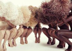 """Siete diferentes tonos de """"nude"""", gracias a Christian Louboutin"""