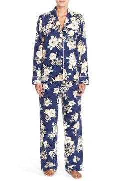 Carole Hochman Designs Print Flannel Pajamas
