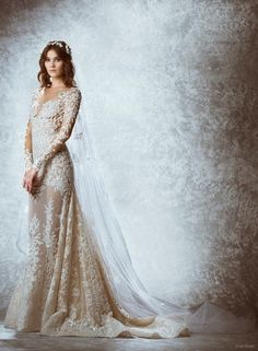 12 Ethereal Looks from Zuhair Murads Fall 2015 Bridal Collection  #ZuhairMurads