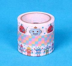 TapeRobot TapeSticker TapeJapanese by sugarbsupplies on Etsy, $5.00