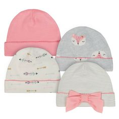 Baby Girl Just Born Organic Fox & Arrow Cuffed Hats, Size: Months, Orange Baby Girl Just Born Organic Fox & Arrow Cuffed Hats, Size: Months, Orange Baby Girl Bows, My Baby Girl, Baby Girl Newborn, Baby Socks, Baby Hats, Baby Warmer, Cute Baby Clothes, Girl With Hat, Baby Girl Fashion