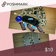 NWOT  Leopard Slippers New & never worn leopard print slippers. Size: Small (5-6) Machine washable NO HOLD/TRADE (PRICE FIRM) Shoes Slippers