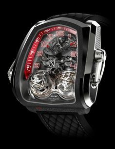 Jacob & Co. Twin turdo Twin triple Axis Tourbillon minute repeater watch Hands-one is $ 360.000
