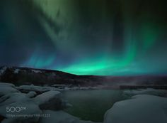 Popular on 500px : Alaska Fairbank Aurora by poweroflovekoo9