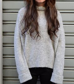 TOTAL OVER #ALYSI  #streetstyle #pullover #trend #fashion #oversweater sweater