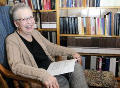 Historian Audrey Godfrey reflects on study of women in LDS Church. (Portrait by Eli Lucero)