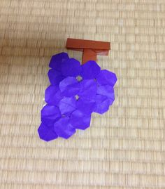 折り紙 ぶどう 折り方 作り方 grape origami