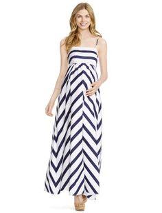 b30fbf2253de2 Jessica Simpson Empire Waist Maternity Maxi Dress