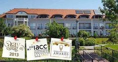 Szállodánkban modern és jól felszerelt konferenciatermeinkben felkészült szakembereink, valamint profi rendezvényszervezőink valósítják meg céges rendezvényét. Céges szolgáltatásaink színvonalát jelzi, hogy Magyarországon elsőként sikerült elnyernünk a neves IACC (International Association of Conference Centers) minősítést. Relax, Mansions, House Styles, Modern, Home Decor, Dune, Trendy Tree, Decoration Home, Manor Houses