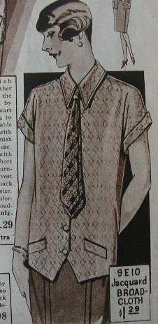 1920s women's menswear style