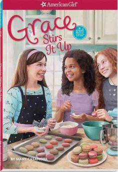 J SERIES AMERICAN GIRL. Inspired by her grandparents' bakery and her recent visit to Paris, nine-year-old Grace leads her friends in starting La Petite Patisserie, making and selling French pastries at school and special events, but they soon discover that starting a new business is not always easy--or fun.