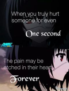 Anime quote. Anime: another