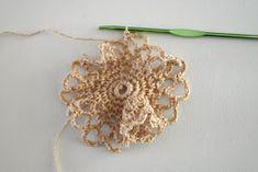 DMMU: Gratis haakpatroon: Boodschappen-netje! Chrochet, Crochet Earrings, Brooch, Knitting, Floral, Handmade, Diy, Bags, Jewelry