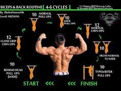 BodyWeight BACK & BICEPS Workout [Calisthenics Routine]