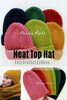 Ribbed Beanie Patten