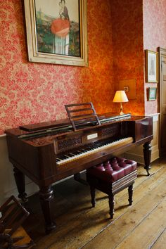 I love these piano's, just like the one in Sense and Sensibility. 1858