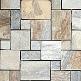 Olympia Golden Sand Opus Romano pattern @ Beaver Tile and Stone