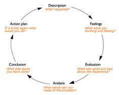The reflective cycle - Gibbs diagram