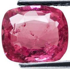 3.59-Carat Breathtaking Cushion-Cut Ruby from Madagascar
