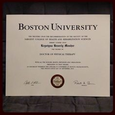I finally received my diploma! #dptWolf #official #bostonuniversity by taekyungwolf