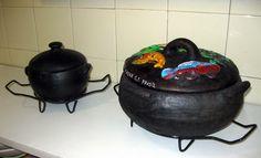 how to clean romertopf clay pot