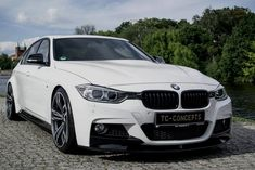 TC concepts f30 3 series wide body kit white
