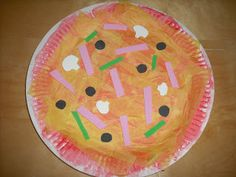 ARTventurers -paper plate pizza craft!