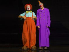 How could you say no to these faces?   La Nouba by Cirque du Soleil