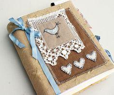 bluebird art journal (sold)