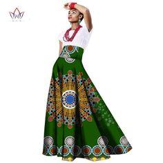 African women dress Long Maxi Dashiki, cotton bow gown skirt for women top African Women, African Fashion, Work Fashion, Skirt Fashion, Ankara Designs, Work Skirts, Dashiki, African Attire, Cotton Skirt