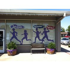 Relay For Life Paint Your Town Purple from Ripon, CA... THIS IS AMAZING! I think we need to start making more competitions between businesses to have the coolest PTTP display- perhaps we could reward them with a sponsorship package!