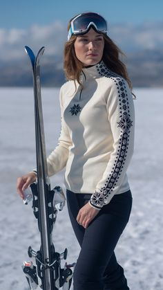 Hit the slopes in style with Dale of Norway this winter. Keep warm in norwegian sweaters made of 100% wool. Made in Norway since 1879. Shop your ski look now!