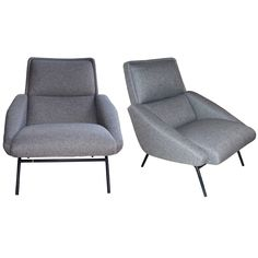 1950s armchairs by Pierre Guariche