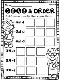 first grade math unit 11 comparing numbers skip counting and number order activities number. Black Bedroom Furniture Sets. Home Design Ideas
