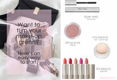 how to green your makeup bag in a few easy steps by @Kathy Chan Andreoli in blush