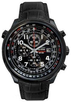 Citizen Quartz Movement Steel Case Black Dial Men's Watch - CA0395-02E Citizen. $262.50