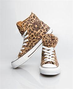 Converse All Star Women - Converse Chuck Taylor High - Cheetah