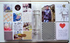 Project life: Janvier pages 3 & 4... | Littlemisstiti