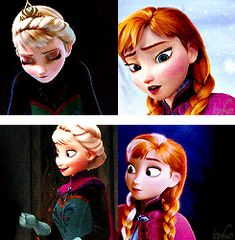 A Sister More Like Me Elsa and Anna Parallels aw