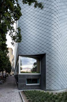 Atlas Garden: A Modern Office Building with Flexible Floor Plans #architecture
