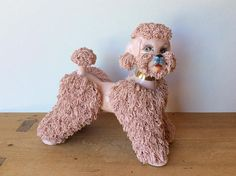 More About The Athletic Poodle Poodle Hair, Pink Poodle, Chocolate Poodle, Poodle Grooming, Teddy Bear Toys, Cute Toys, Gift For Lover, Mans Best Friend, I Love Dogs