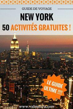 Quoi ?? Il est possible de profiter de New York sans faire un gros trou dans son porte-monnaie, et son budget voyage par la même occasion ?! Oui oui. J'ai passé 3 semaines à New York et j'ai testé tous les bons plans et activités… gratuites ! Voici donc 50 activités gratuites à New York !! | voyage à New York | partir à New York | New York pas cher | astuces New York | city trip New York