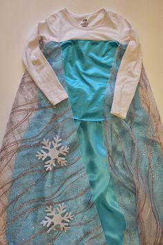 Pequeña Fashionista: Tutorial: Disfraz de Reina Elsa