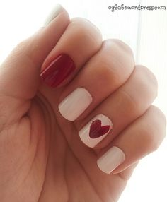 Valentine's Day Nails Naild It, My Nails, Valentines Day, Beauty, Valentines Diy, Beleza, Valentine's Day, Valentines, Cosmetology