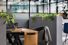 Furniture and finishes have been kept simple and elegant. Photo by Ari Hatzis. #workplace #warehouse #interior