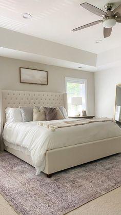 Bedroom Furniture Design, Room Ideas Bedroom, Master Bedroom Design, Home Decor Bedroom, Master Bedroom Decorating Ideas, Modern Room Decor, Master Room, Bedroom Designs, Bed Room