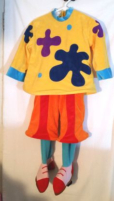 Clown Costume JoJos Circus Dress Up XS Costume Disney Store Exclusive  #Disney #OnePieceOutfitMissingHat