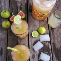 Fig Lemonade (use honey for SCD)